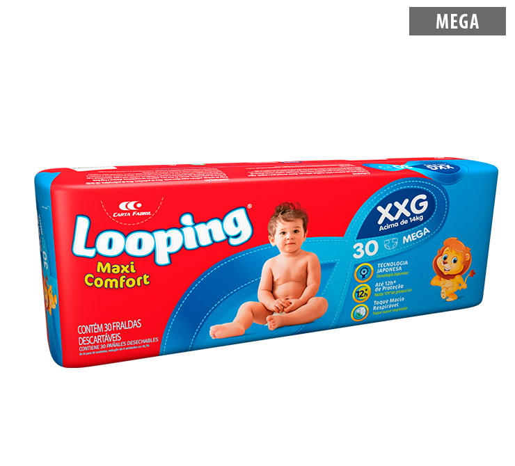 Looping Diapers - Mega