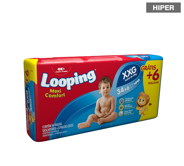 Looping Diapers - Hiper